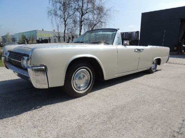 Lincoln - Continental cabriolet - 1962