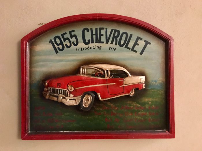 Decorative object - Chevrolet 1955 - 1960-1965