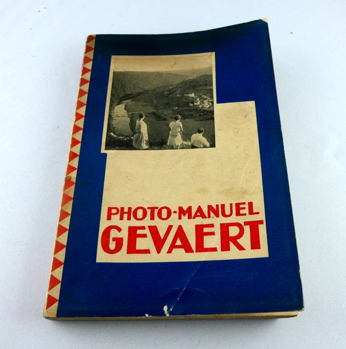 PHOTO MANUEL GEVAERT RARE old Belgian book about photography. French. 1930