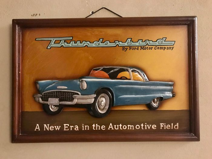 advertising banner Thunderbirds Ford - Ford Thunderbind  - 1960-1970 (1 items)
