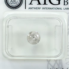 Diamond - 0.71 ct - 明亮型 - I - I3 - NO RESERVE PRICE