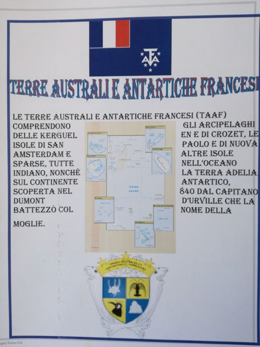 France - Colonies (questions générales) - French colonies, Cameroon, French Southern and Antarctic Lands, with services