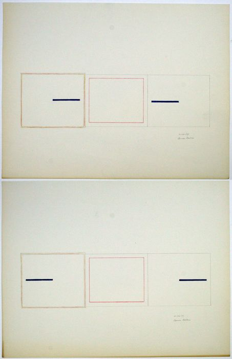 Bruce Boice (1941) - Composition (diptych)