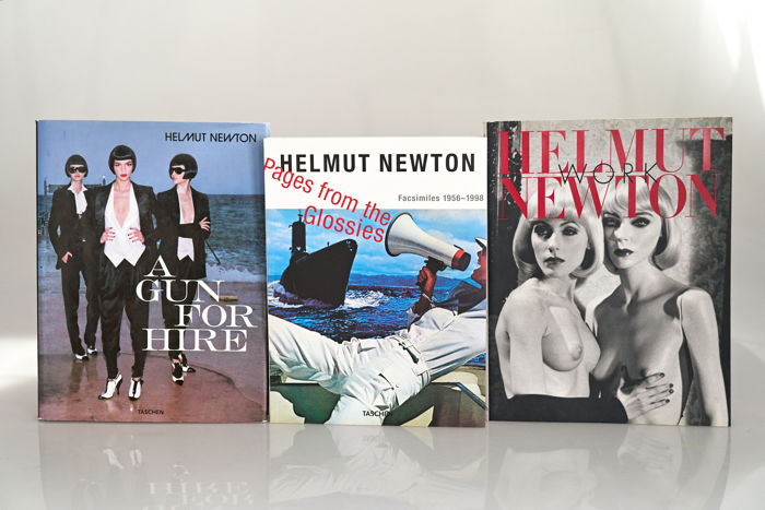 Helmut Newton - A Gun For Hire, Pages From the Glossies & Work - 2000/2015