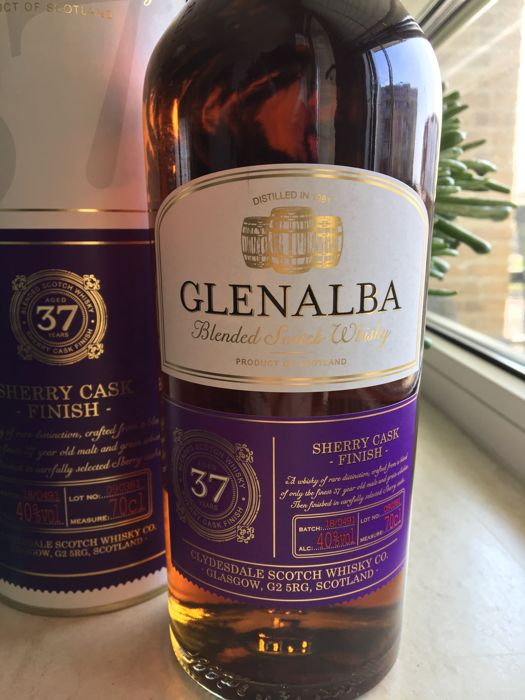 Glenalba 1981 37 years old - Clydesdale - 0.7 Litres