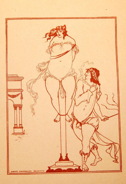 Aubrey Beardsley - Drawings for the sixth Satires of Juvenal - 1903