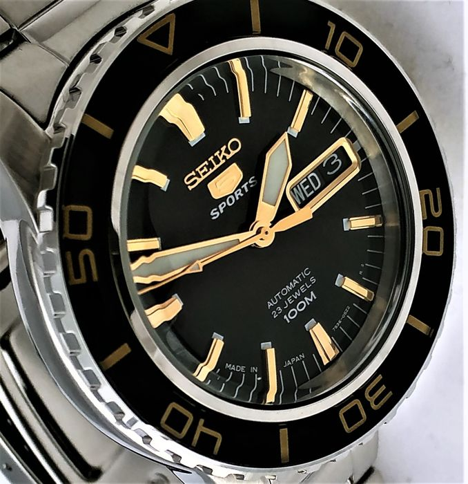 "Seiko - ""NO RESERVE PRICE""  Automatic ""50 Fathoms"" 5 Sports  - 7S36 - Homme - 2018"