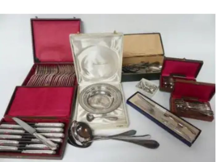 Cutlery set - Silverplate - France - 2000
