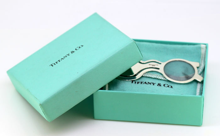 Tiffany - 925 Silber - Seitenteiler, Brillen / Loop-Glas