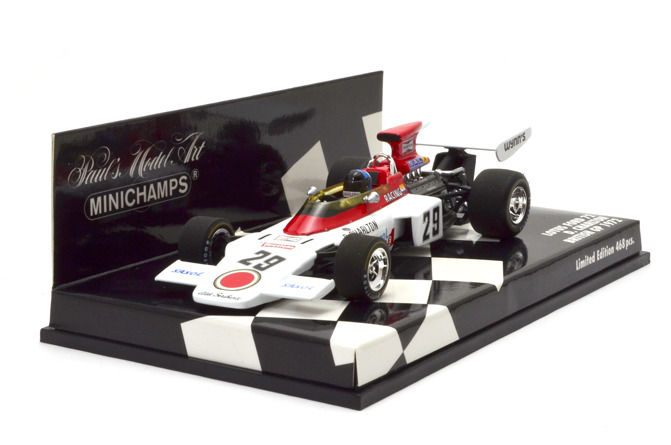 MiniChamps - 1:43 - Lotus Ford 72 D. Charlton British GP 1972 - Limited Edition of 468 pcs.