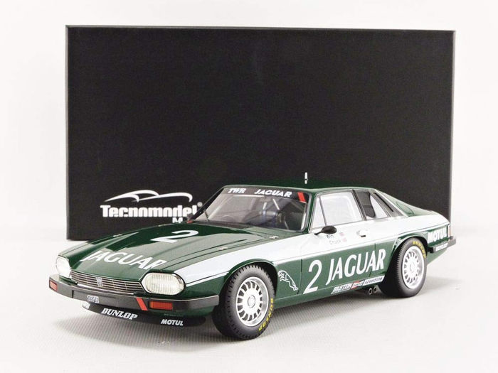Tecnomodel Mythos - 1:18 - Jaguar XJS #2 Donington 500 KM Winner 1984 - Limited Edition of 95 pcs. (Individually Numbered)