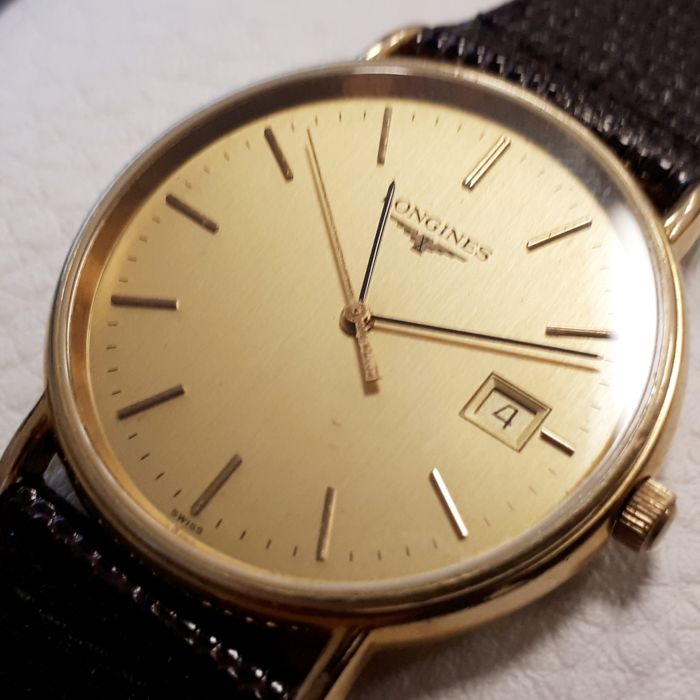 Longines - Classic Gold Plated - L4.636.2 28715743 - Heren - 1990-1999
