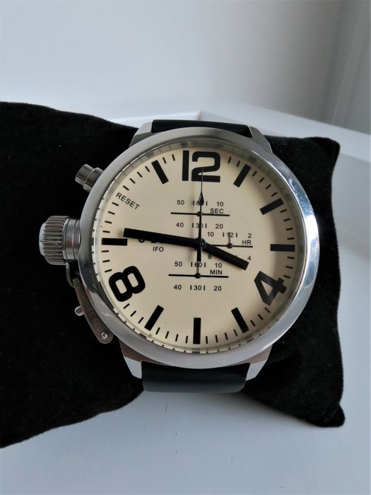 "U-Boat - Left Hook Limited Edition Chrono ""NO RESERVE PRICE"" -  A-0153 - Heren - 2000-2010"