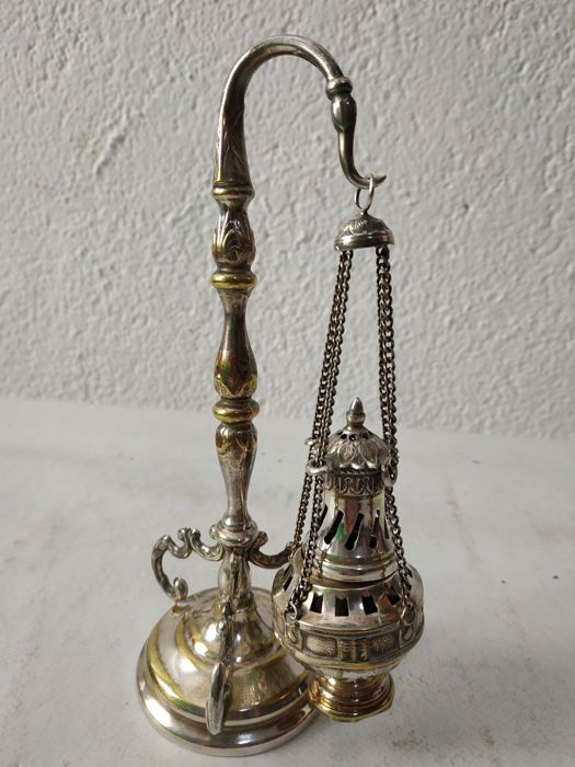 Botafumeiro, censer - Silverplate - Spain - 1950-1999