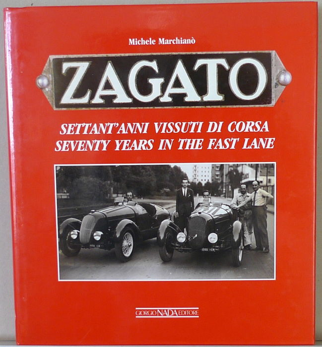 "Libros - Zagato ""Seventy Years in the Fast Lane"" - 1989-1989"