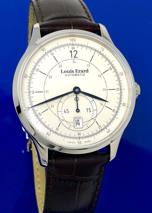 "Louis Erard - Automatic 1931 Small Seconds Silver Dial - ""NO RESERVE PRICE"" - 33226AA11.BDC80 - Heren - BRAND NEW"