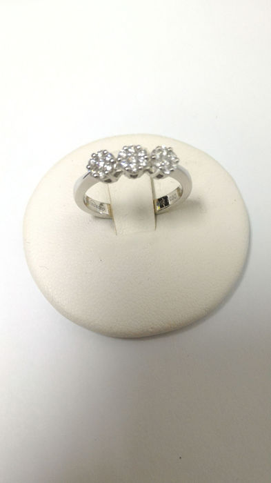 Giorgio Visconti - 18 kt. White gold - Ring