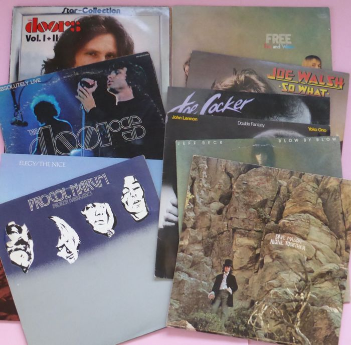 Set of 10 classic albums - Multiple artists - The Nice, The
