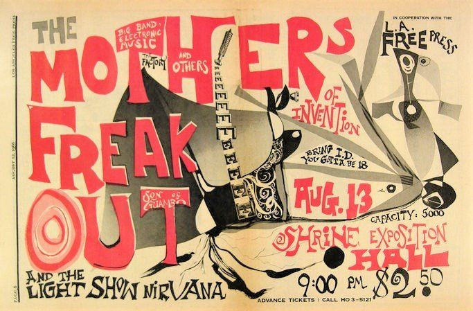 Frank Zappa, Frank Zappa and the Mother of Eventions - Diverse titels - Twee posters - 1966/1966