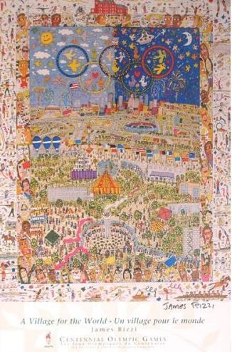 James Rizzi - A Village for the World