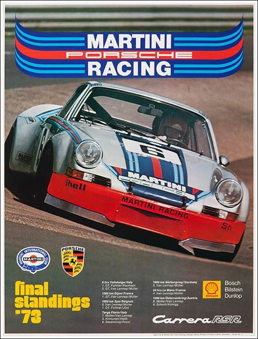 Studio Anthes  - Martini Racing Porsche - 1973