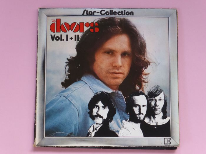Set of 10 classic albums - Multiple artists - The Nice, The Doors