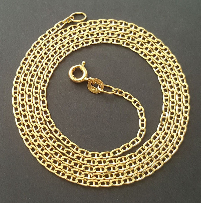 60 cm 5 gr - 18 carats Or jaune - Collier