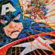 Ventes de Street art (Heroes vs. Villains)
