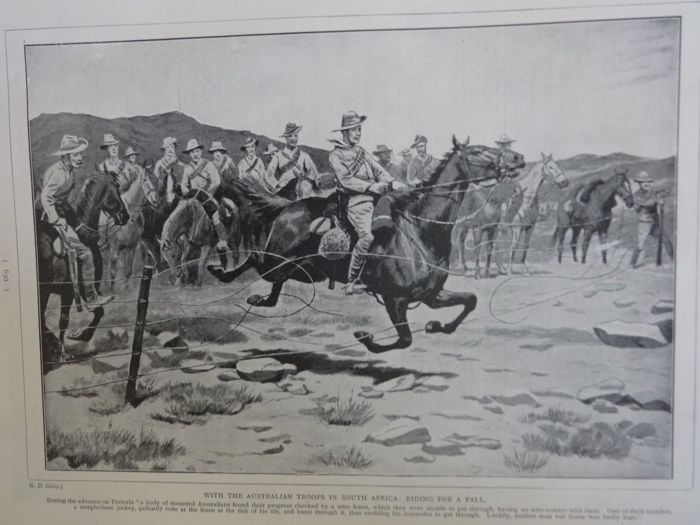 H.W. Wells - 1899-1900 With the flag to Pretoria a history of the Boer-War - 1900
