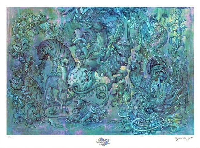 James Jean - Hunting Party II