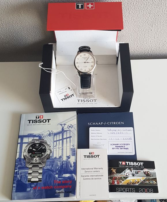 Tissot - Le Locle - T41.1.423.33 - Heren - 2000-2010