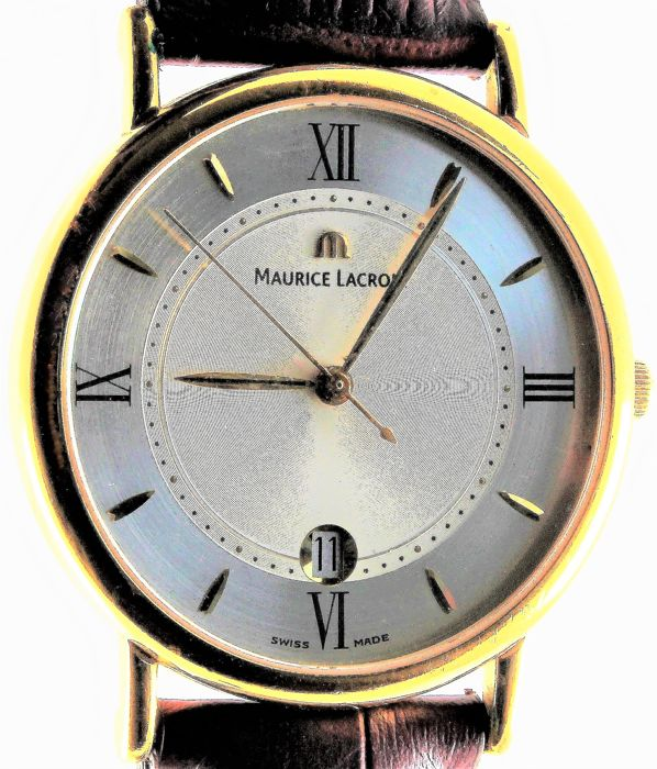 "Maurice Lacroix - ""Les Classiques"" - Gold Plated - NO RESERVE PRICE!! - Ref. No: 69686 - Heren - 1990-1999"