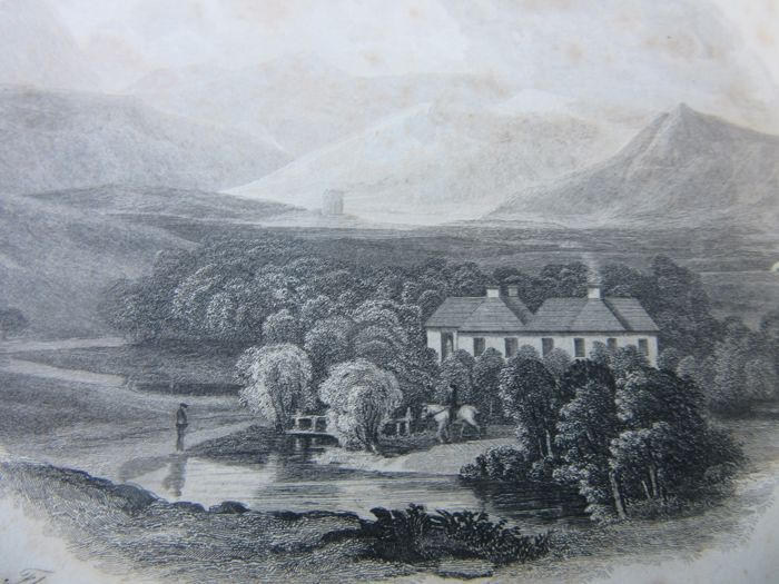 The topographical, statistical and historical gazetter of Scotland - 1842