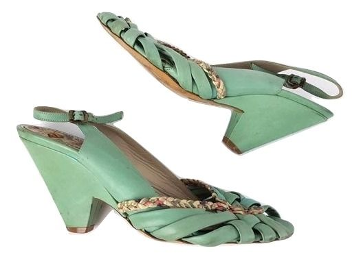 Paul Smith - Peeptoe slingback Sandalen