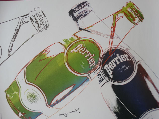 Andy Warhol - Perrier