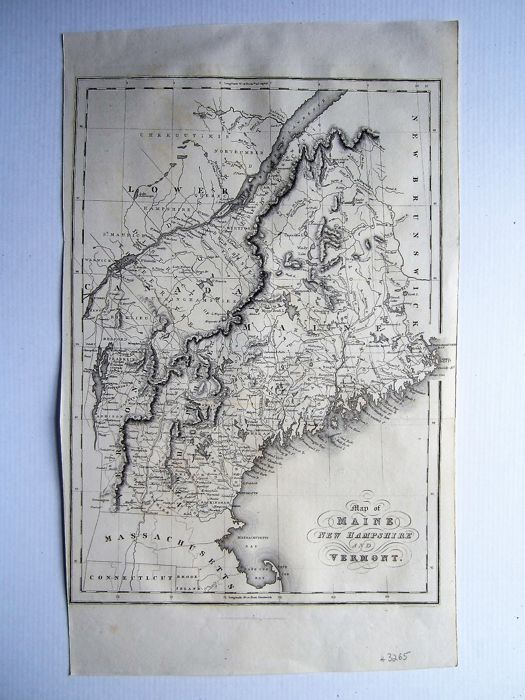 North America, Maine, New Hampshire, Vermont; Hinton, Isaac Taylor ...