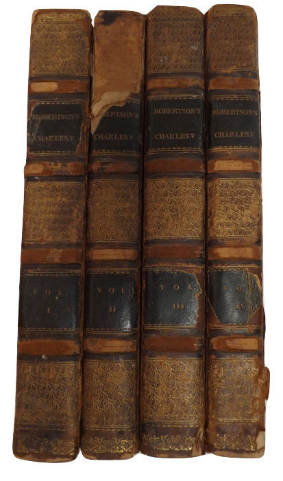 Robertson, William - History of The Reign of Emperor Charles V - 1819