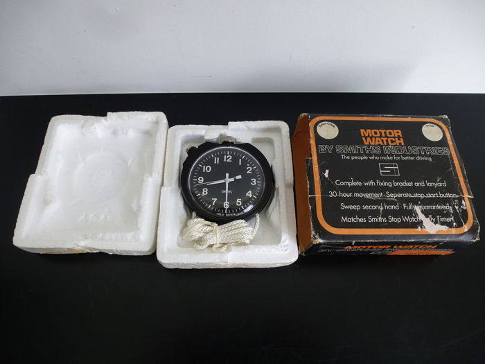 Rally Dashboard Watch - Smiths Industries - 1960-1970