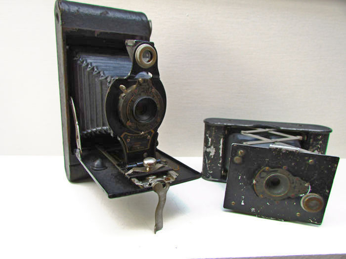 Kodak Ltd. Balg  Camera en kodak vest pocket