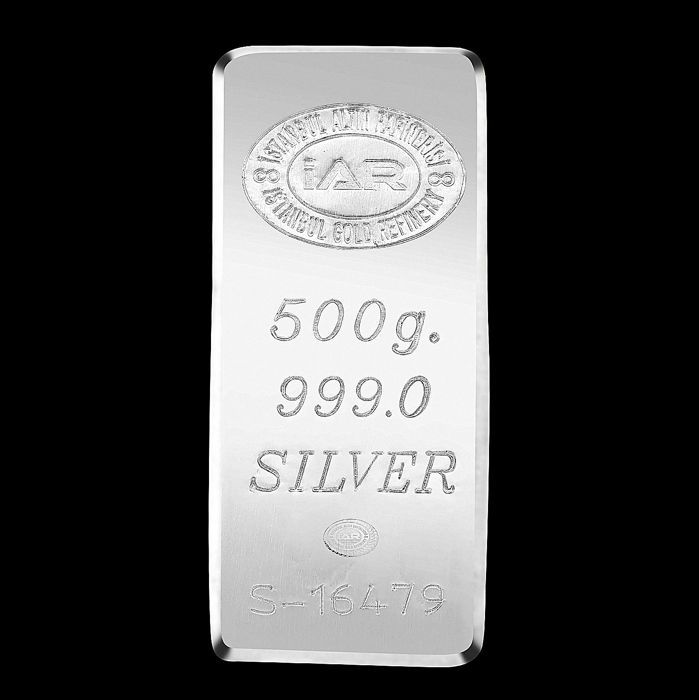 4 X 5  gram Fine Silver Bullion Bar 999 Istanbul Gold Refinery certificated