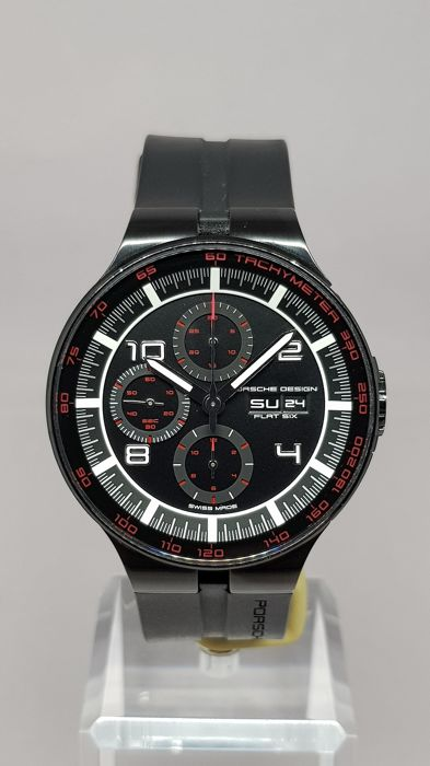 "Porsche Design - 6360 Flat Six Chronograph PVD Coated 44mm - ""NO RESERVE PRICE"" - 6360.43.44.1254 - Heren - 2011-heden"