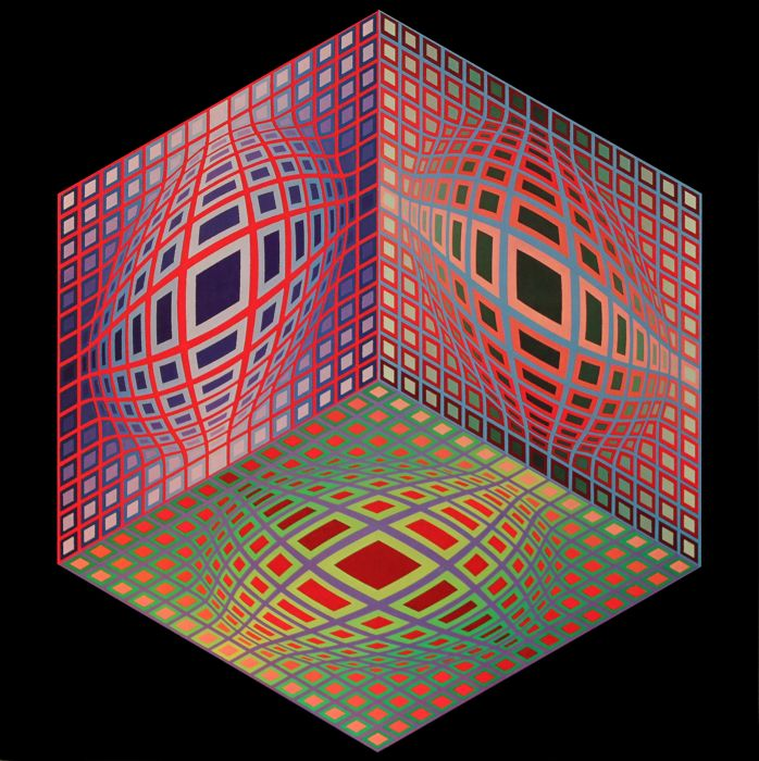 Victor Vasarely - TEST-2