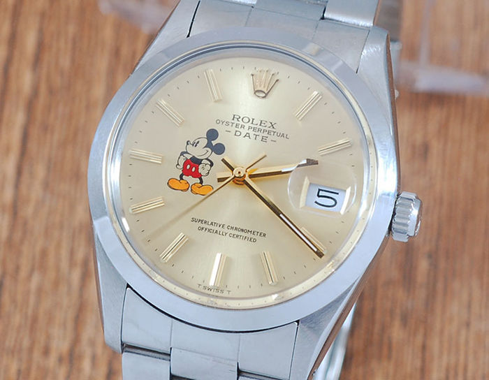 Rolex - Oyster Perpetual Date - 15000 - Homme - 1980-1989