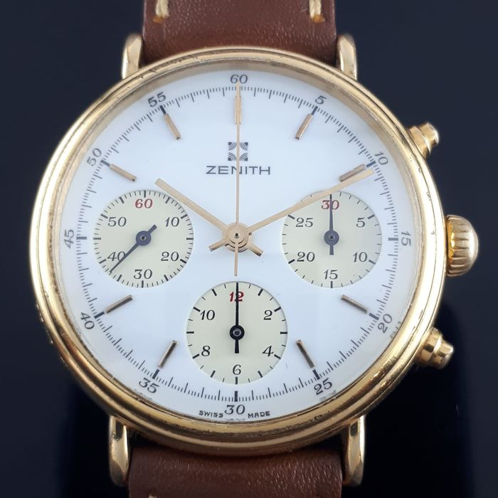 Zenith - Chronograph Cal. 146 HP - Men - 1970-1979