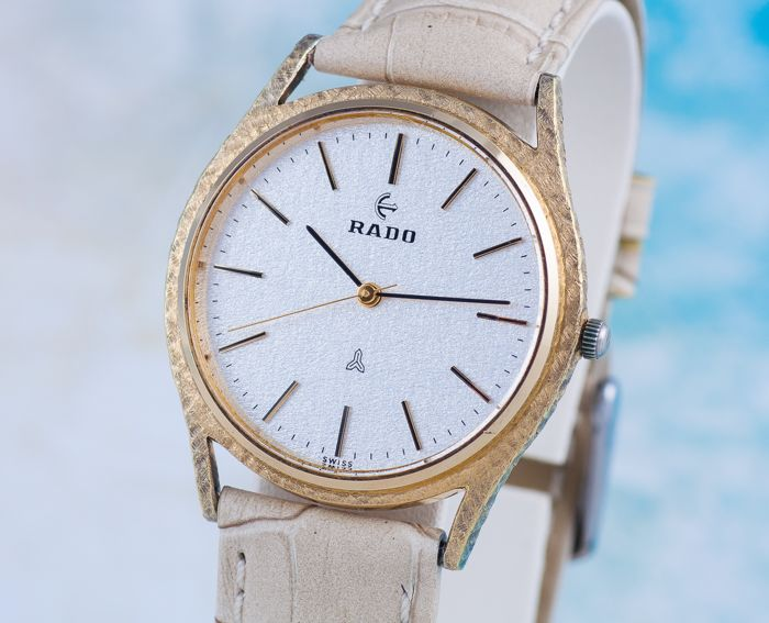 Rado - Luxury Sterling Silver Swiss Watch - Men - 1980s