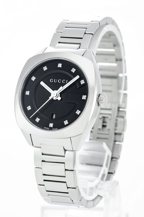 Gucci - Stainless steel square shape - YA142503 - Women - 2011-present