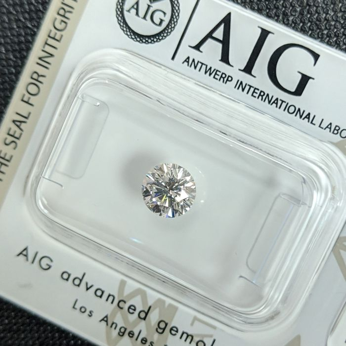 Diamond - 0.70 ct - Brilliant - H - SI1