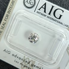 Diamante - 0.70 ct - Brilhante - H - SI1, No Reserve Price