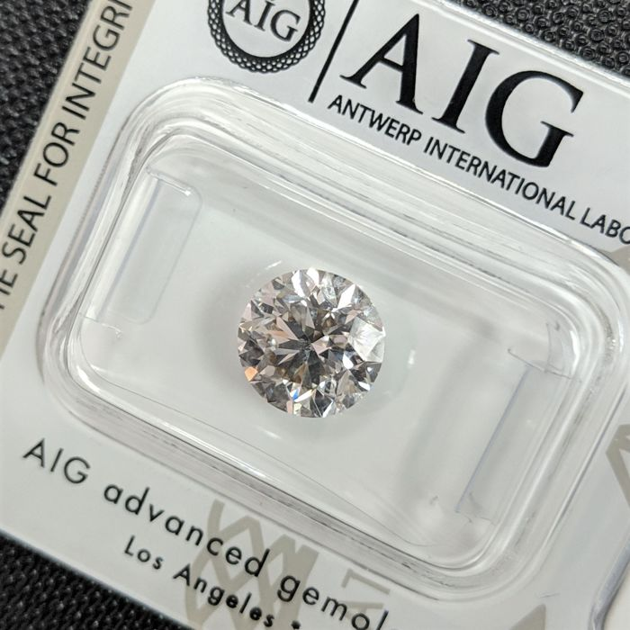 Diamond - 2.51 ct - Brilliant - H - VVS2