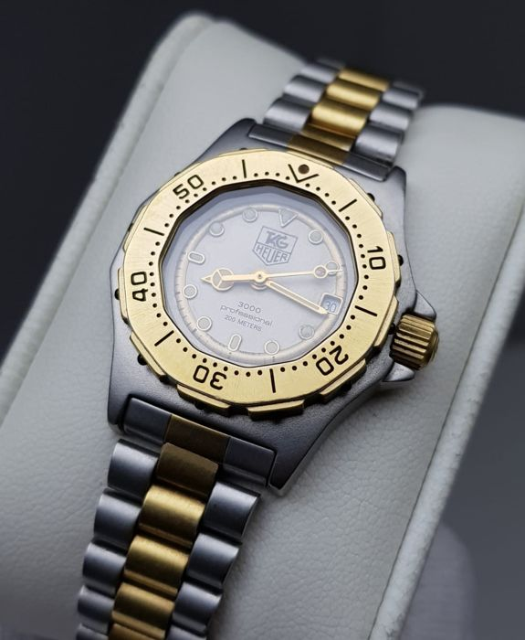 TAG Heuer - ''NO RESERVE PRICE'' 3000 Prof. Diver's 200M Lady - 932.208 - Dames - 1980-1989